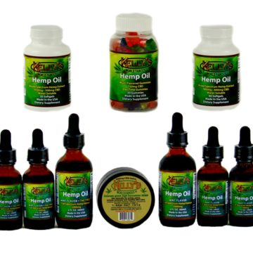 CBD Hemp Oil Products